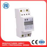 contador elegante de múltiples funciones montado sobre carriles de la energía de Digitaces la monofásico del estruendo 1p
