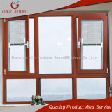 Thermal Station-wagon Aluminum Alloy Knell Breaking Window with Integral Shutters