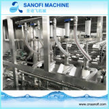3-5 fregado de las botellas del galón, relleno, máquina que capsula con el Ce (600BPH)