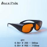 Produtos da segurança de laser: Vidros de segurança do laser, óculos de proteção de segurança do laser, segurança de laser Eyewear. Proteção For532nm&1064nm YAG do laser