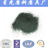 Polvo verde que pule los abrasivos negros del carburo de silicio