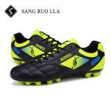 Chaussures antidérapantes respirables du football de sports d'hommes