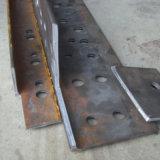 Aço inoxidável de placa de ângulo do CNC de Tqj que entalha a máquina de estaca de canto com estação hidráulica