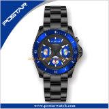 Uomini di ceramica degli orologi di immersione subacquea dell'incastronatura delle vigilanze automatiche di lusso dell'acciaio inossidabile