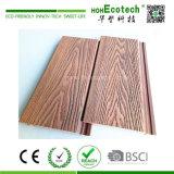 156*21mm Bâtiment Composite en plastique de décoration en bois WPC Revêtement mural