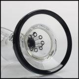 6.3 Duim van het Glas bestrooit Zwarte het Roken van de Tabak van de Boorplatforms van de SCHAR van de Mond Perc Waterpijp