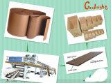 물결 모양 두꺼운 종이 생산 라인을%s 높은 작동 속도 직업적인 제조
