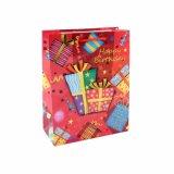 Bolsa de papel de vestir del regalo del juguete del departamento de la torta de cumpleaños actual
