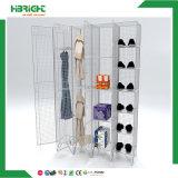 Armario de almacenaje del acoplamiento de alambre de acero de la puerta doble para los trabajadores