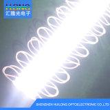 1550-5050 lente resistente al agua luz signo de cuadro de publicidad módulo LED