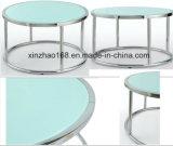 둥근 유리제 커피용 탁자 (xz-013) 작은 둥근 크기 커피용 탁자