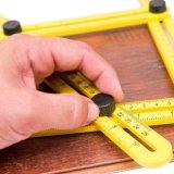 각 측정 다중 각 통치자 템플렛 공구 측정