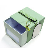 명확한 녹색 인쇄된 마분지 포장 서랍 상자 #Drawerbox