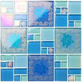Bonne mosaïque en verre d'épaisseur du carrelage de décoration de la Chine 30*30cm