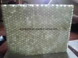 Hojas compuestas del vidrio de fibra de la base de panal de la fibra de vidrio