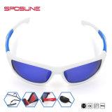 Les glaces de Sun de sports de pêche de volleyball surpassent le sport en verre de lunettes de soleil de sports