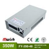 350W 48V7.3A Wechselstrom Stromversorgung zur Gleichstrom-IP44 SMPS LED