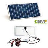 Panneau solaire portatif 3W, 5W, 10W 20W 40W 80W pour la maison et solution de bureau