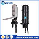 La gaine thermorétractable 96core FTTH fibre optique de la fermeture de l'épissure (dôme 7001)