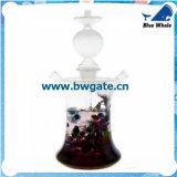 Venda por atacado China do cachimbo de água Bw1-099! Tubulação de vidro de fumo do cachimbo de água