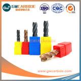 2.5X8X50мм карбид вольфрама HRC45-65 плоские 4/6 флейты мукомольных предприятий со стороны