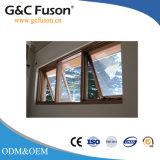 Aislamiento acústico de aluminio toldo exterior de la ventana con persianas Design