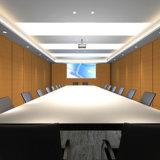 L'insonorisation ajuste le panneau de mur acoustique de salle de réunion de tissu