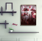 Maschera di vendita calda di arte della parete della pittura della tela di canapa di HD con il blocco per grafici