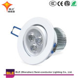 Plafonnier ronde 5W 7W 9W 12W 18W SMD LED Downlight monté en surface