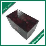 Boîte de papier à vin de carton pour l'emballage de cadeau de vin
