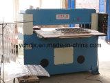 El cuero máquina cortadora hidráulica de 40 ton.