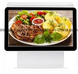 """IcpE8600dl2高品質の倍のPOSシステムかスーパーマーケットまたはレストランまたは小売り(15.6 """" +15.6 """"のための容量性タッチ画面の金銭登録機)"""