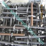 金庫の構築のための調節可能な足場のジャックベース