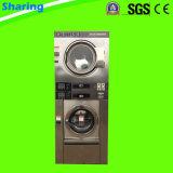 dessiccateur de rondelle de la pile 12kg pour la laverie automatique