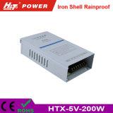 5V 40A 200W 유연한 LED 지구 전구 철 Htx