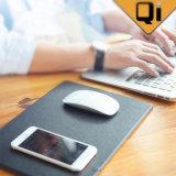 가장 새로운 도착 질 Qi 표준 무선 충전기 Mousepad 마우스 매트