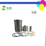 Moteur de cylindre unique de pièces de rechange L12 pour la vente de chemise de cylindre