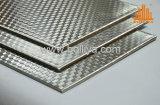 Material composto de aço inoxidável para Faç Decoração do revestimento da parede de cortina de Ade