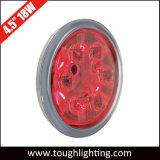 4.5 luz redonda del trabajo de la pulgada 18W PAR36 LED y luz de la cola