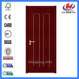 안쪽 문 디자인 MDF 동등한 단 하나 Prehung 멜라민 문
