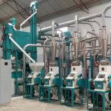 Alto padrão de fábrica de farinha de trigo com capacidade de 50t