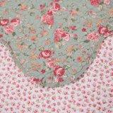 Customized Prewashed têxteis acolchoados de cama confortável durável 1 Peças Colcha Coverlet definida para o conjunto de roupa de cama