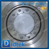 Тройной Didtek СМЕЩЕНИЕ ФЛАНЦА CF8m двухстворчатый клапан производитель коробки передач