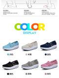 Chaussures de toile de vente chaude bateau avec le design de mode