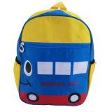 Bolso de escuela de encargo del estilo de la insignia del omnibus para los estudiantes de la escuela