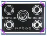 8mmの厚さの黒の緩和されたガラスのパネルのガスの歯切り工具(JZS5605)