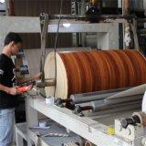 Papel impregnado melamina decorativa de madera del grano de la teca para los muebles