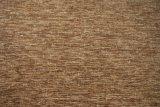 Tela de Chenille llana del café para la tela de la cubierta del sofá (FTH31135)