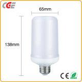 Lâmpada LED B22/27 1300K verdadeiro fogo Chama cor Lantern 5W/7W Lâmpada de luz LED de chamas