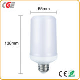 Las lámparas de iluminación LED Bombillas LED Bombilla LED B22/27 1300K True Color fuego Linterna llama 5W/7W de luz LED lámpara de fuego